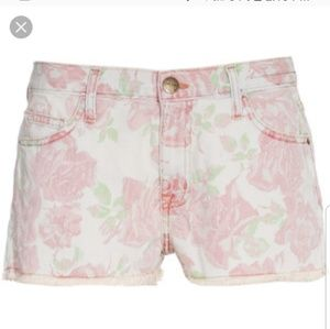 Current elliot the boyfriend short in rose red 29